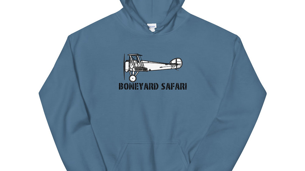 Boneyard Safari Sopwith Camel Unisex Hoodie