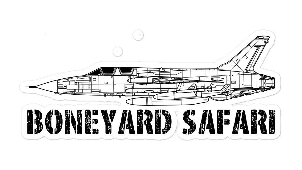 Boneyard Safari F-105G sticker