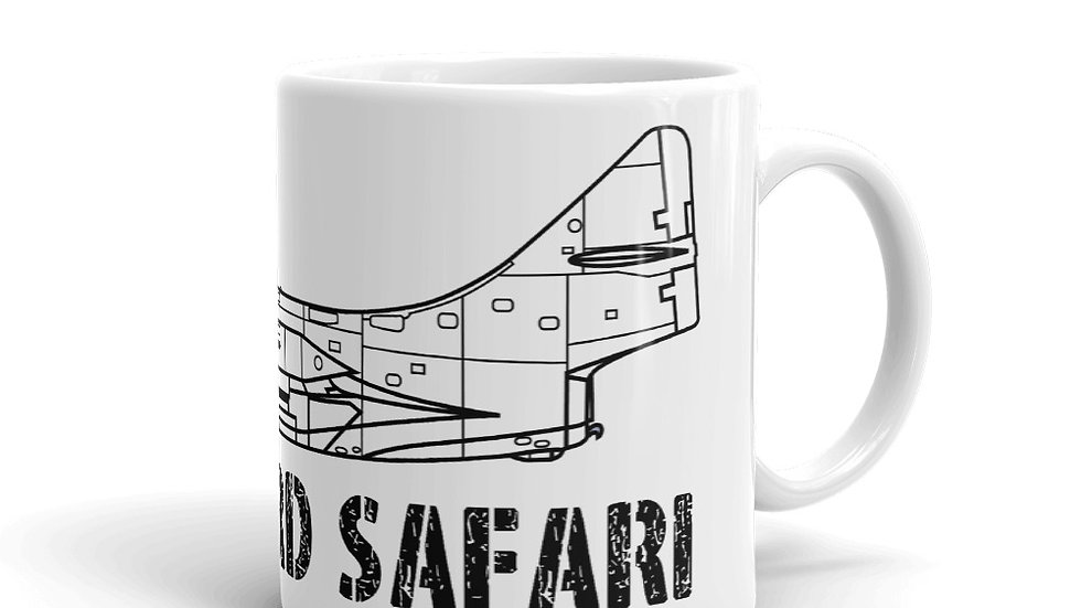 Boneyard Safari F-9F Panther Coffee Mug