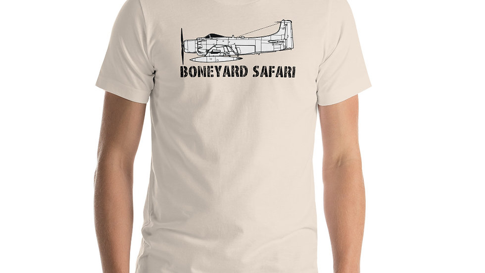 Boneyard Safari A-1 Short-Sleeve Unisex T-Shirt