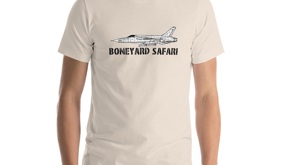 Boneyard Safari F-105D Short-Sleeve Unisex T-Shirt