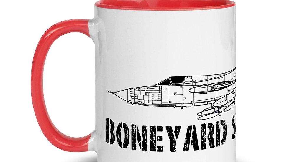 Boneyard Safari F-105D Mug with Color Inside