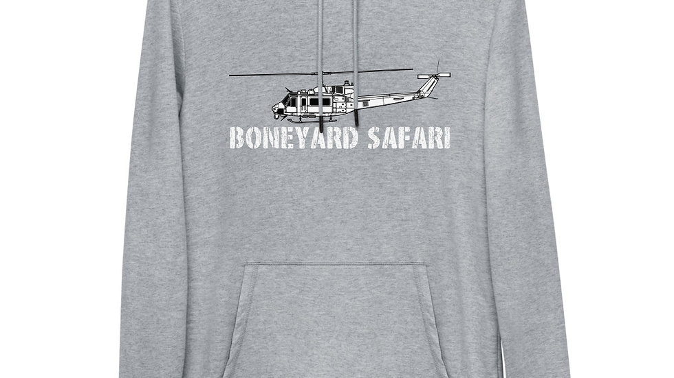 Boneyard Safari UH-1N Unisex Lightweight Hoodie