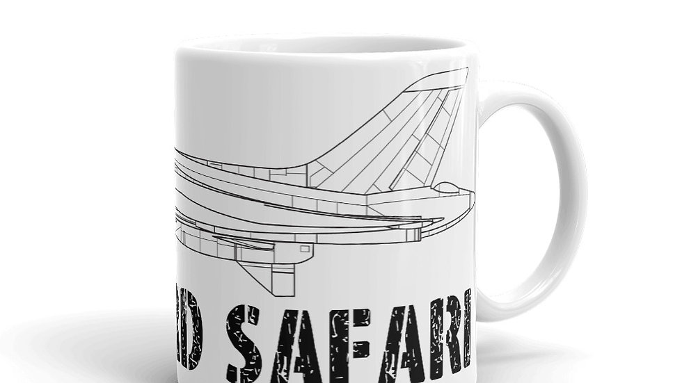 Boneyard Safari Vulcan Coffee Mug