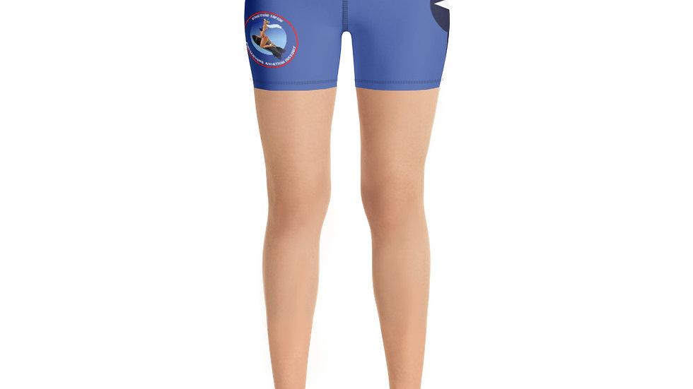 Boneyard Safari USA Roundel Yoga Shorts