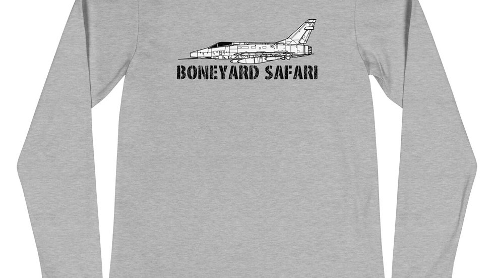 Boneyard Safari F-100D Unisex Long Sleeve Tee
