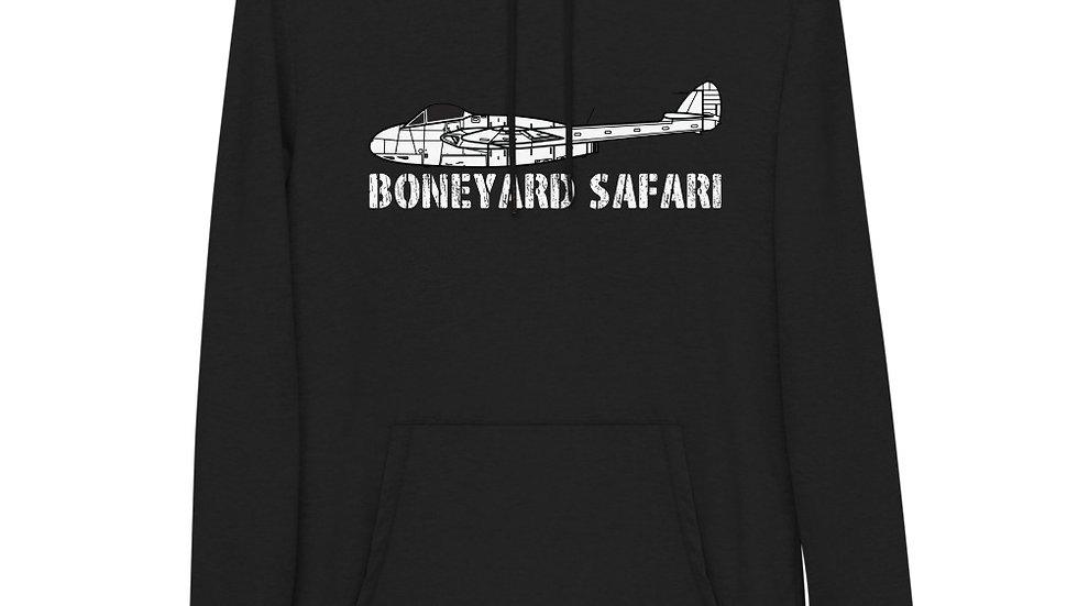 Boneyard Safari de Haviland Vampire Unisex Lightweight Hoodie