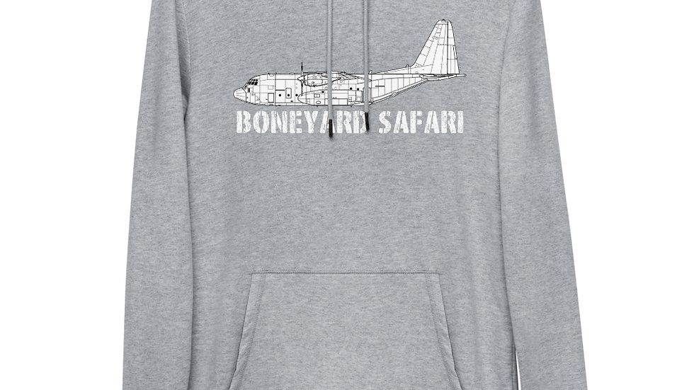 Boneyard Safari C-130H Unisex Lightweight Hoodie