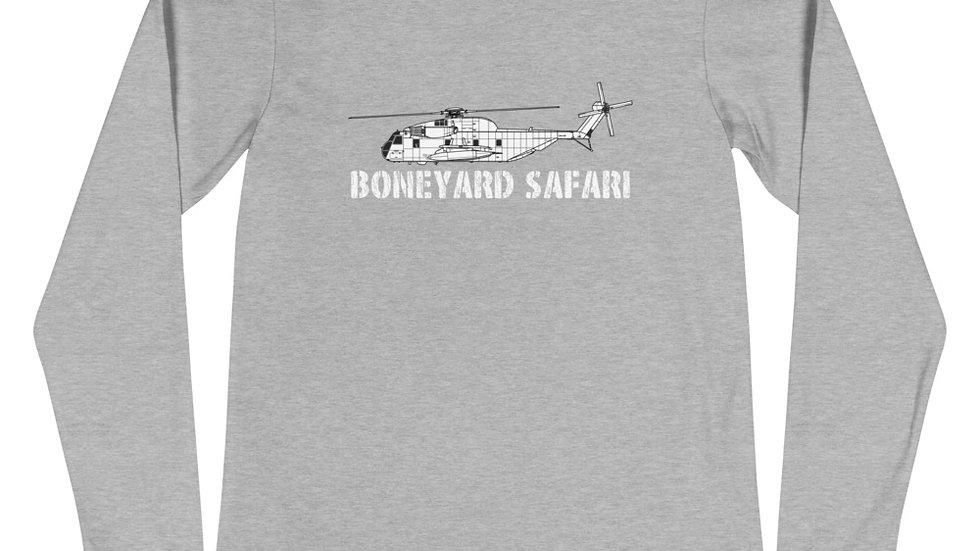 Boneyard Safari CH-53A Unisex Long Sleeve Tee