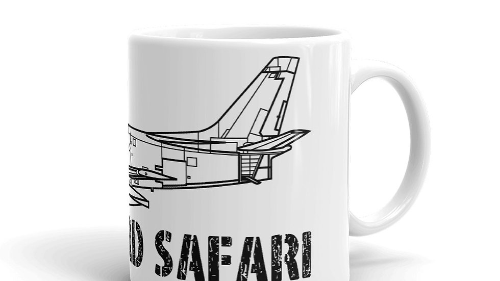 Boneyard Safari F-86 Coffee Mug