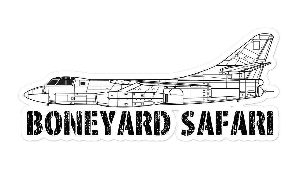 Boneyard Safari B-66 sticker