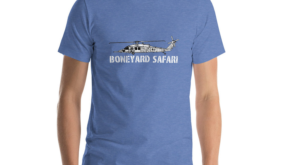 Boneyard Safari HH-60W Short-Sleeve Unisex T-Shirt