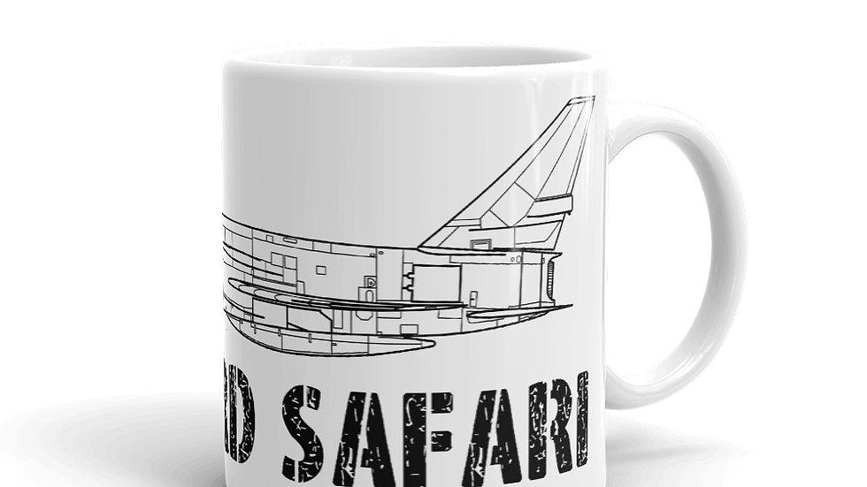 Boneyard Safari F-107A Coffee Mug