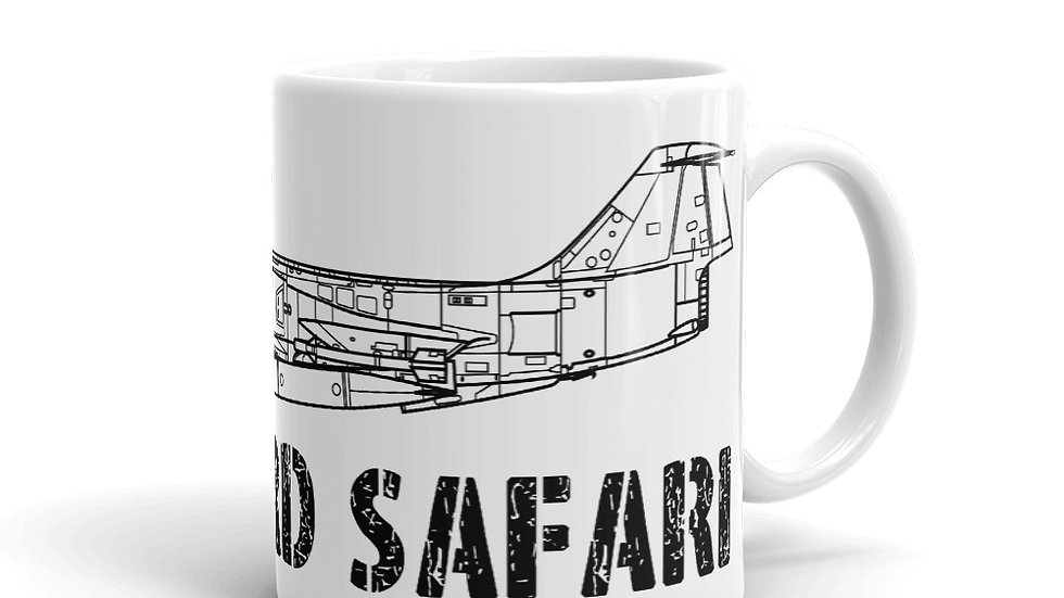 Boneyard Safari F-104 Coffee Mug