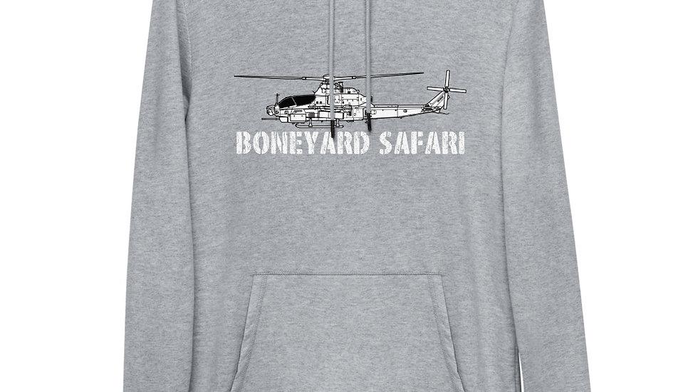 Boneyard Safari AH-1Z Unisex Lightweight Hoodie