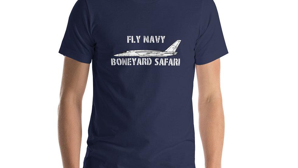 Boneyard Safari Fly Navy RA-5C Short-Sleeve Unisex T-Shirt