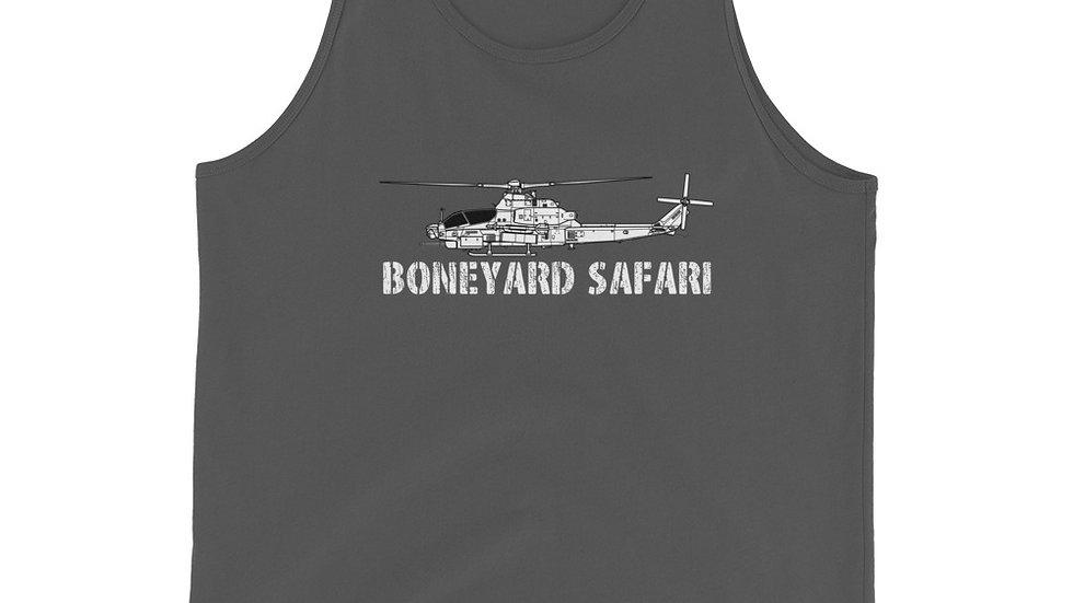 Boneyard Safari AH-1Z Unisex Tank Top