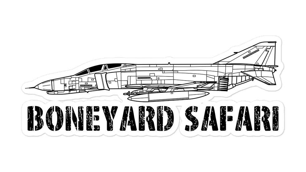 Boneyard Safari F-4E sticker