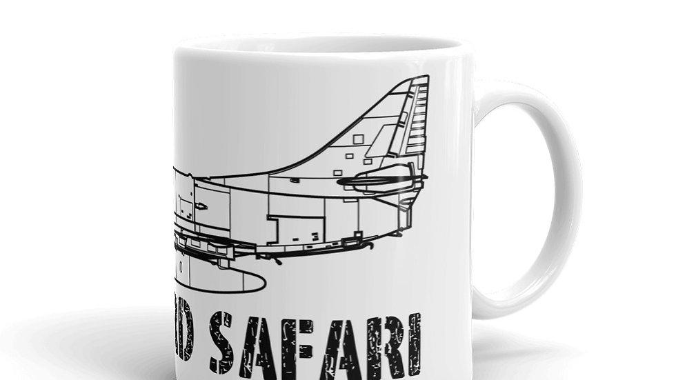 Boneyard Safari A-4E Coffee Mug