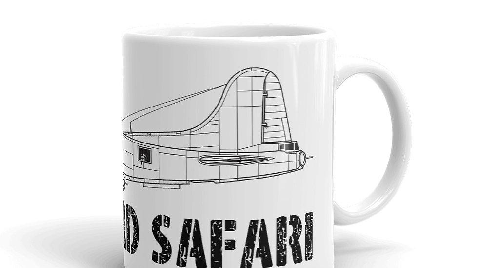 Boneyard Safari B-17 Coffee Mug