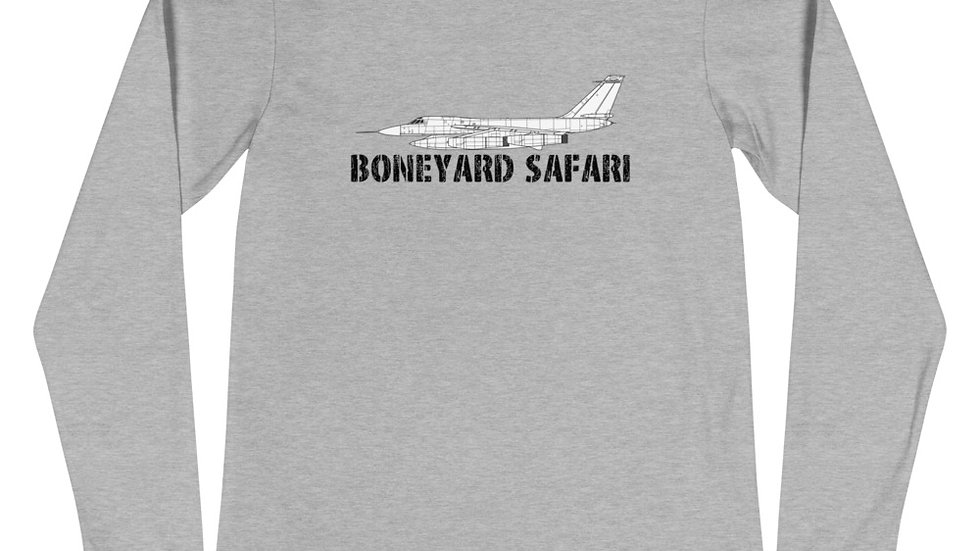 Boneyard Safari B-58 Unisex Long Sleeve Tee