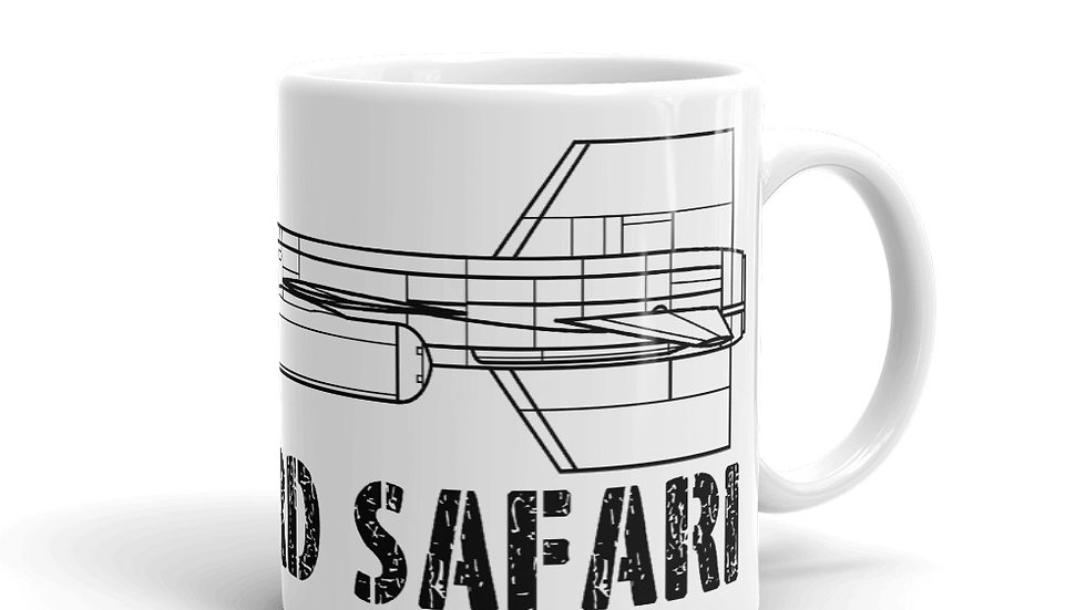 Boneyard Safari X-15 Coffee Mug