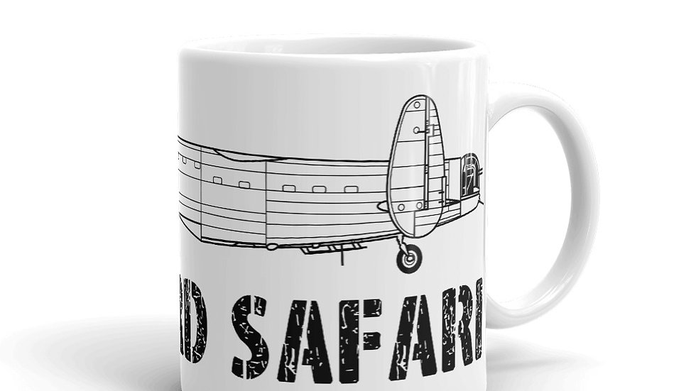 Boneyard Safari AVRO Lancaster B.III Coffee Mug