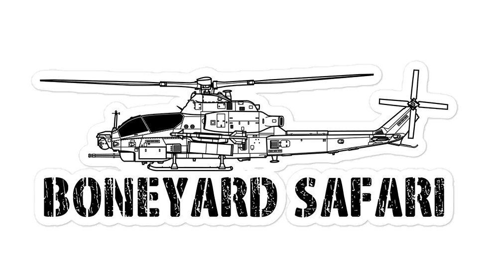 Boneyard Safari AH-1Z sticker