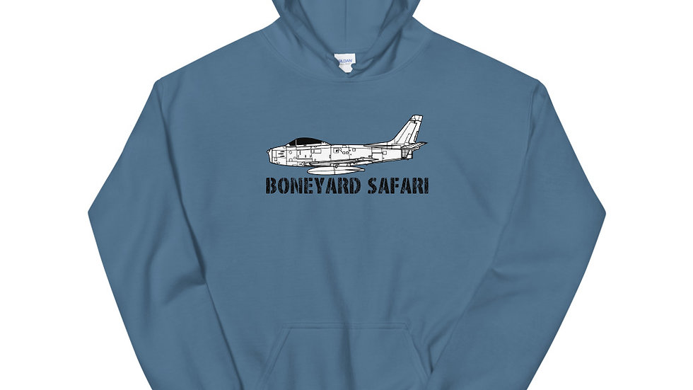 Boneyard Safari F-86 Unisex Hoodie