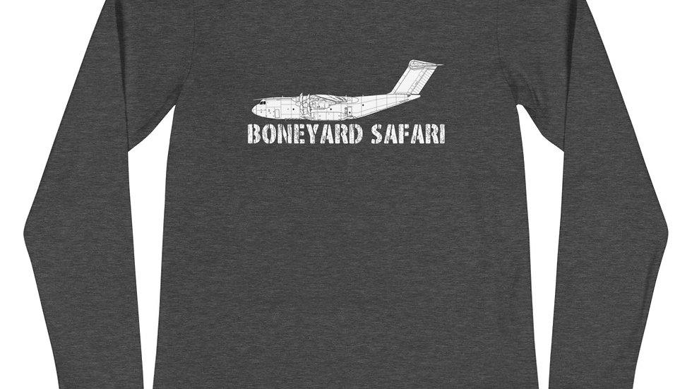 Boneyard Safari A400M Unisex Long Sleeve Tee