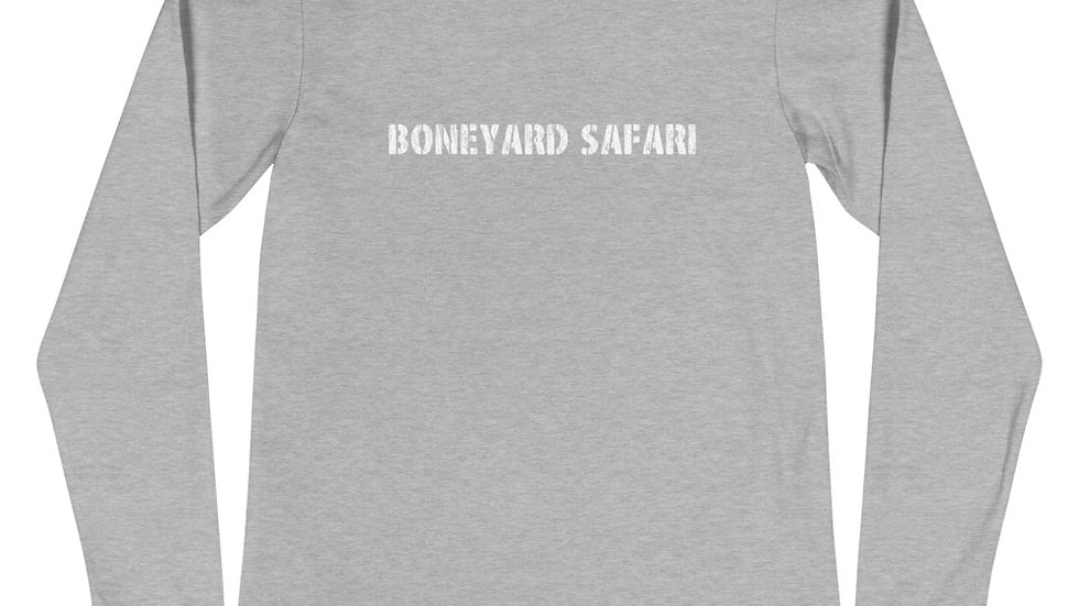 Boneyard Safari Helmet Unisex Long Sleeve Tee