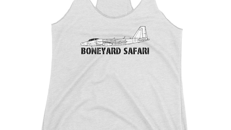 Boneyard Safari WB-57 Women's Racerback Tank