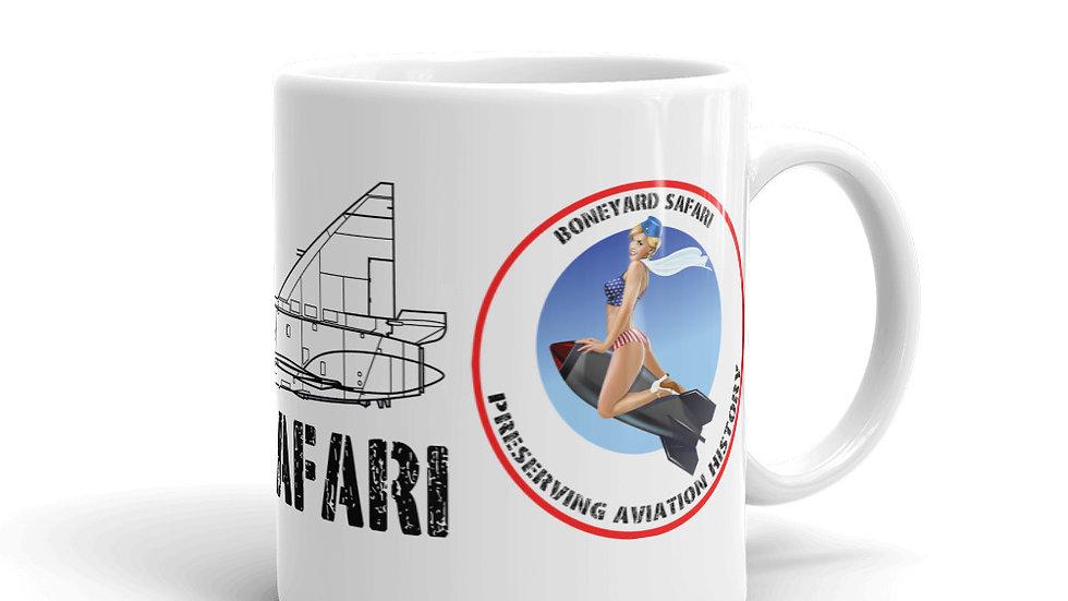 Boneyard Safari F-102 coffee mug