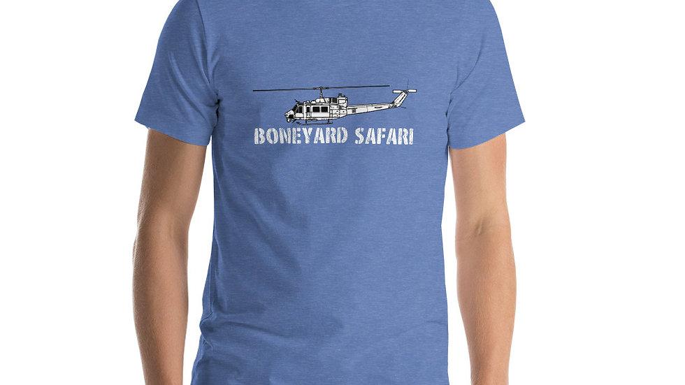 Boneyard Safari UH-1N Short-Sleeve Unisex T-Shirt