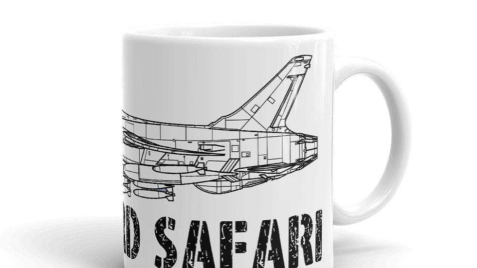 Boneyard Safari F-105D Coffee Mug