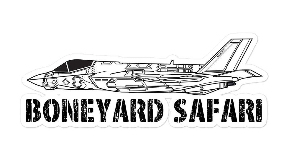 Boneyard Safari F-35C sticker