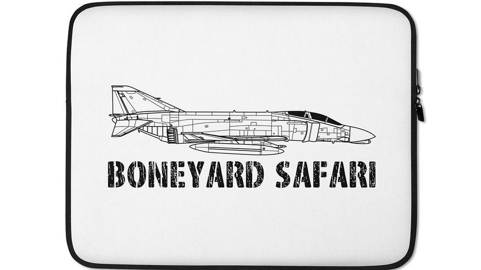 Boneyard Safari F-4C Laptop Sleeve