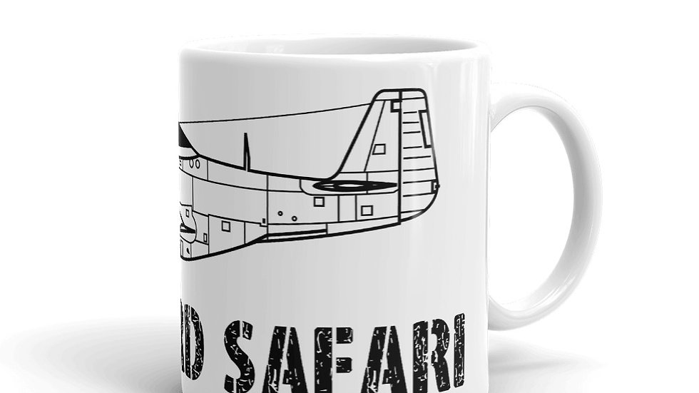 Boneyard Safari P-51 Coffee Mug