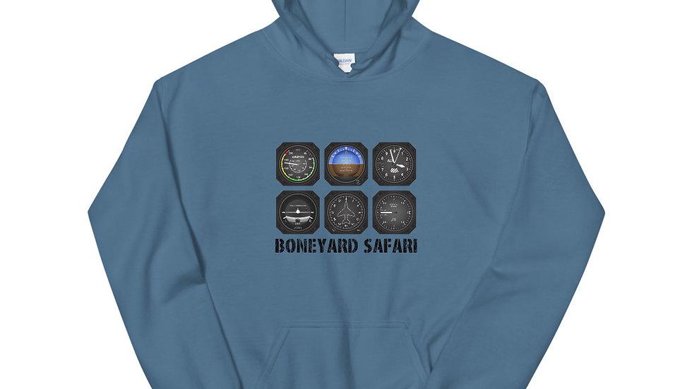 Boneyard Safari Instrument Cluster Hoodie