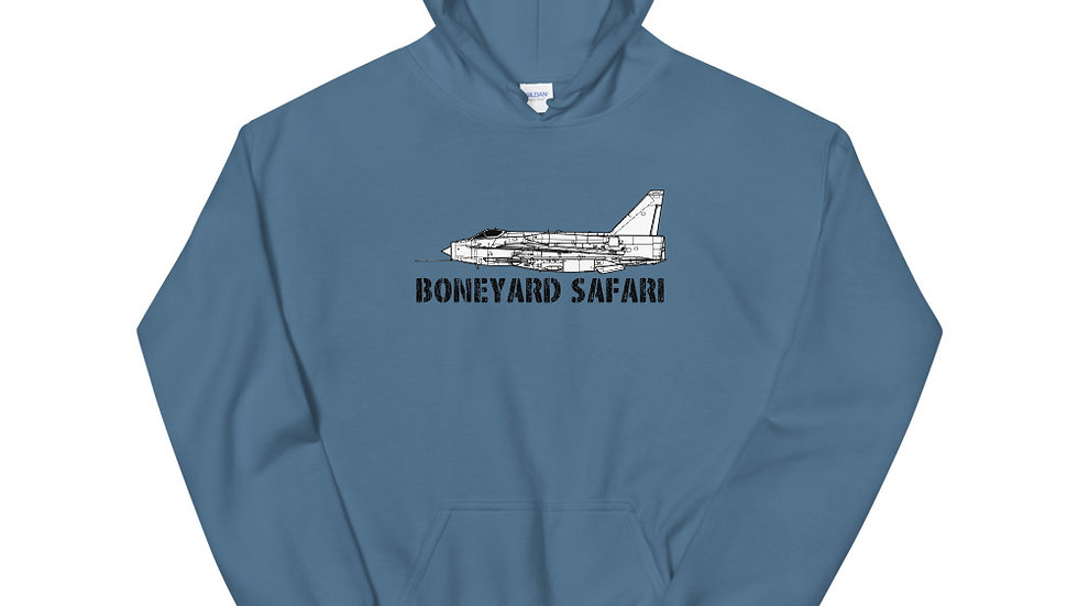 Boneyard Safari Lightning F.Mk 6 Unisex Hoodie
