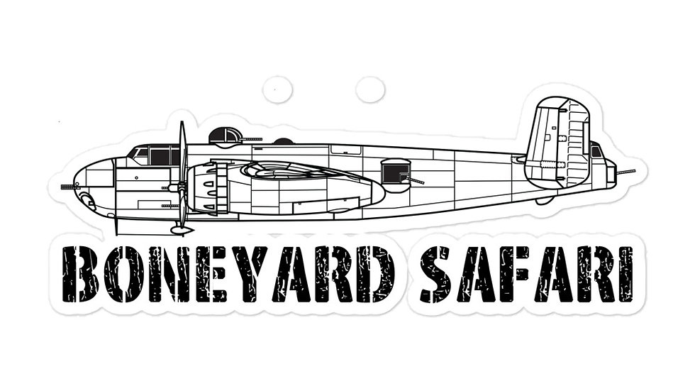 Boneyard Safari B-25H Sticker