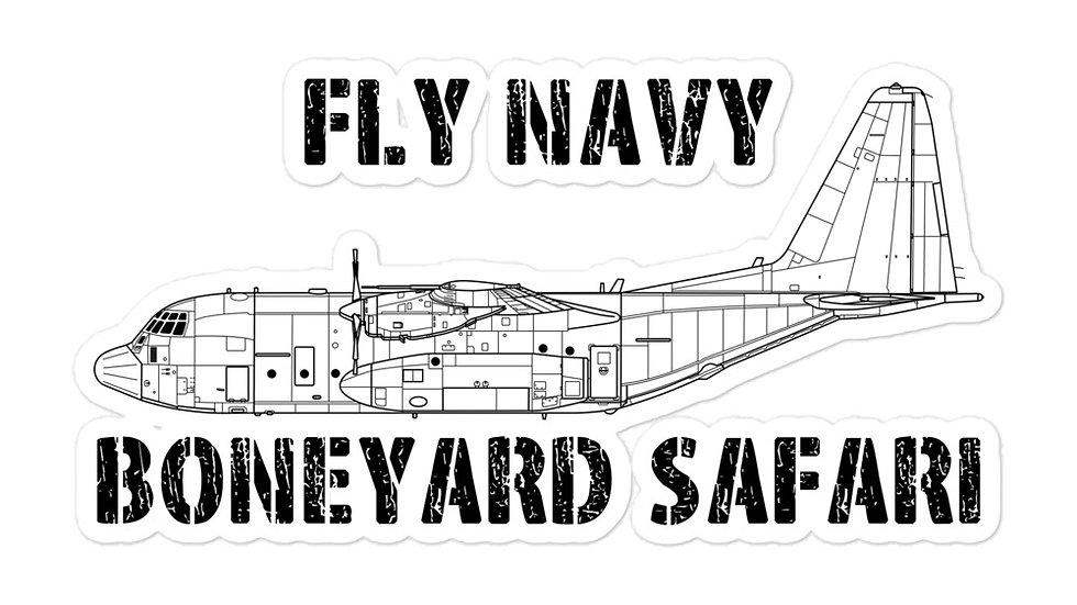 Boneyard Safari Fly Navy C-130 stickers