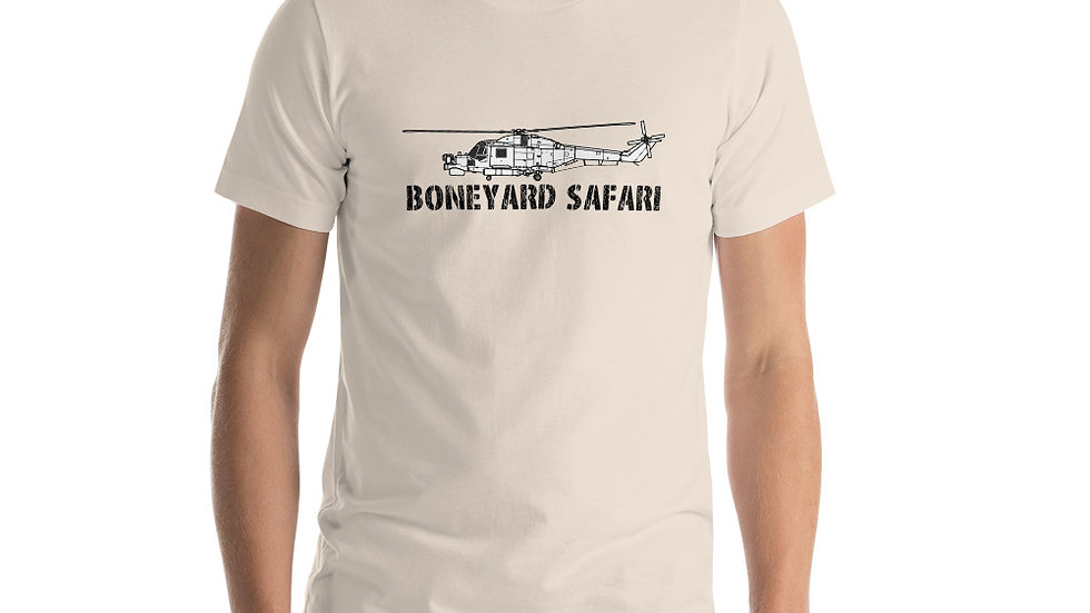 Boneyard Safari WESTLAND LYNX HMA.8 Short-Sleeve Unisex T-Shirt