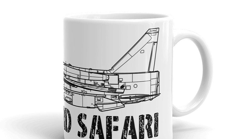 Boneyard Safari Lightning F.Mk 6 Coffee Mug