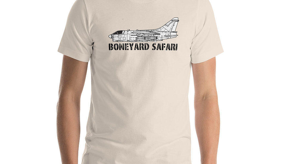 Boneyard Safari A-7 Short-Sleeve Unisex T-Shirt
