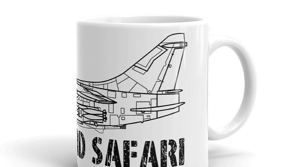 Boneyard Safari A-7 Coffee Mug