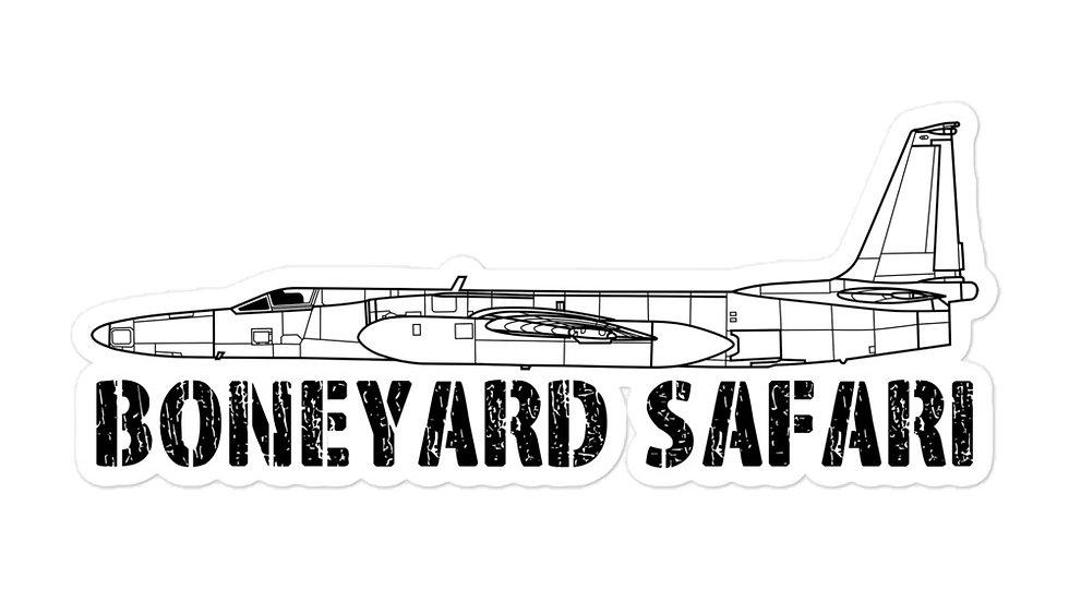 Boneyard Safari U-2S sticker