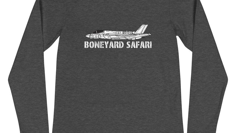 Boneyard Safari F-35A Unisex Long Sleeve Tee