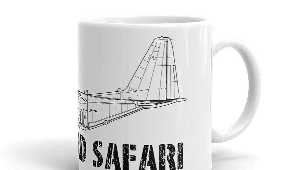 Boneyard Safari C-130H coffee mug