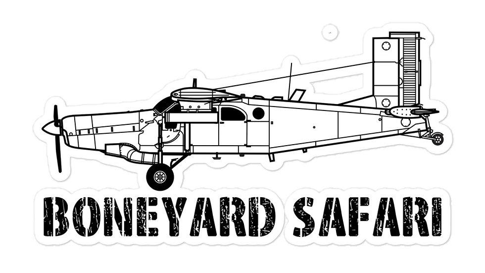 Boneyard Safari AU-23 sticker